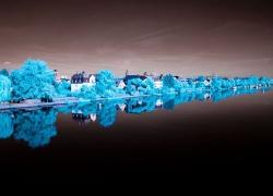 Mainufer-blau